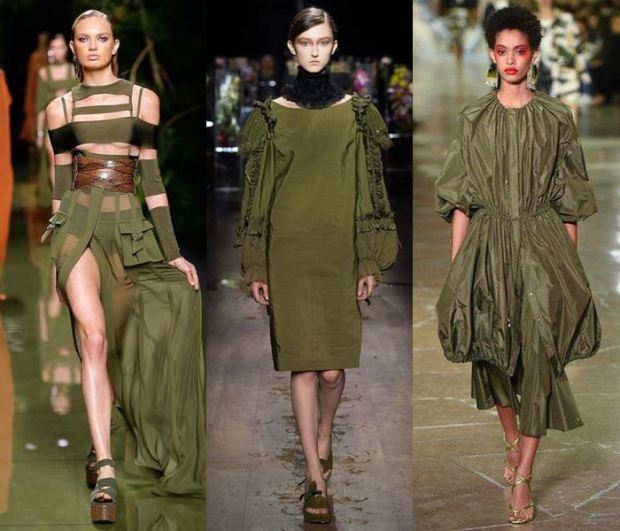 What colors to wear in spring 2018