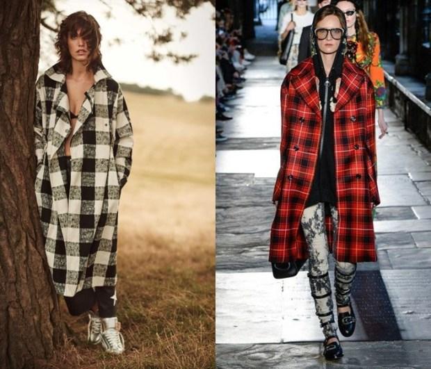 Coats for women 2018 plaid