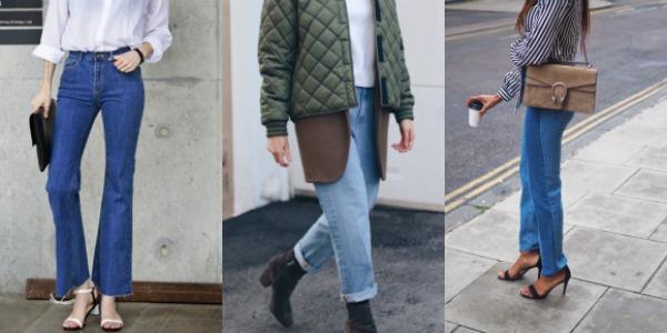 Women jeans trends 2018