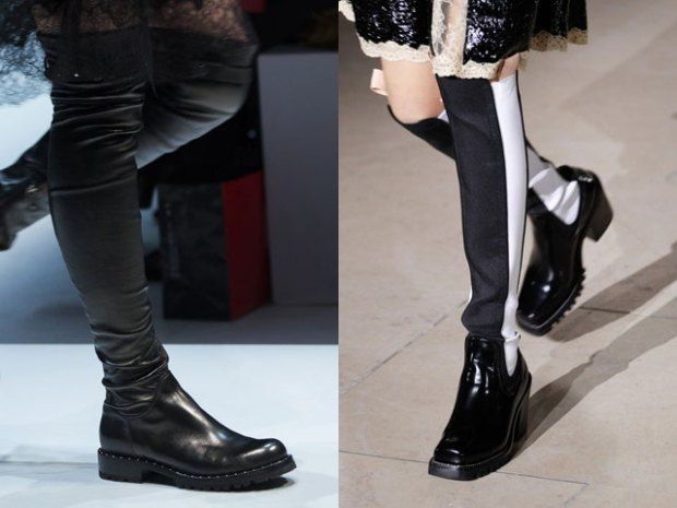Boots for women fall 2018 winter 2019 flat sole