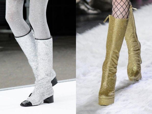 Women footwear fall winter 2018 2108: luster