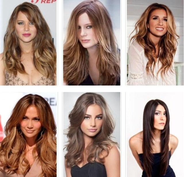 long hair brunettes