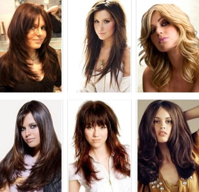 Haircuts for women 2017 waterfall for long hair