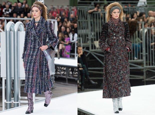 Chanel coats fall winter 2018 2019