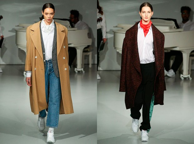 Oversize women coats fall 2018 winter 2019