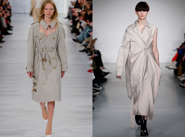 What trench coats to wear in fall 2018