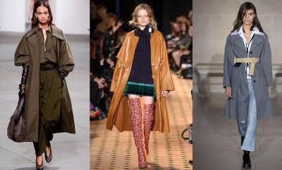 Trench Coats Fall 2017 Winter 2018