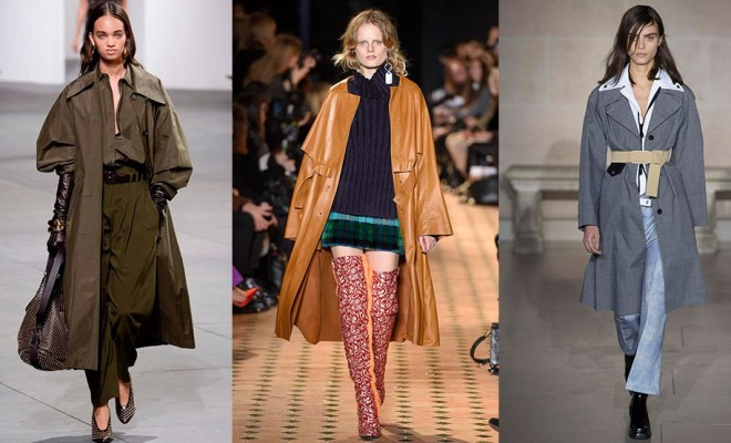 Trendy Trench Coats Fall-Winter 2018-2018