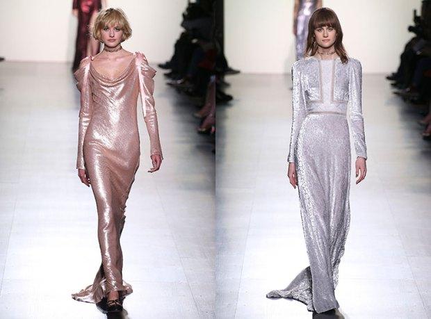 Evening dresses 2019 glossy