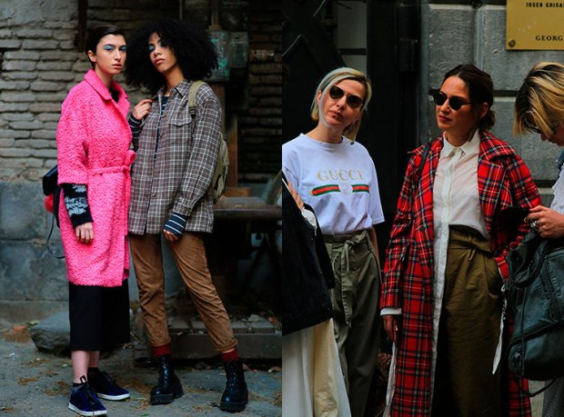 Street style fashion fall 2018