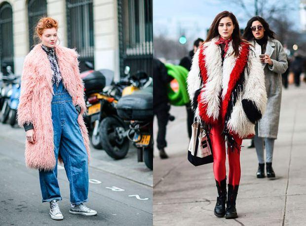 Street style fashion fall-winter 2018 2019: fur