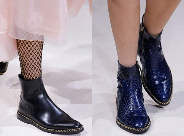 Ankle boots fall winter 2018 2019: Viennese heel