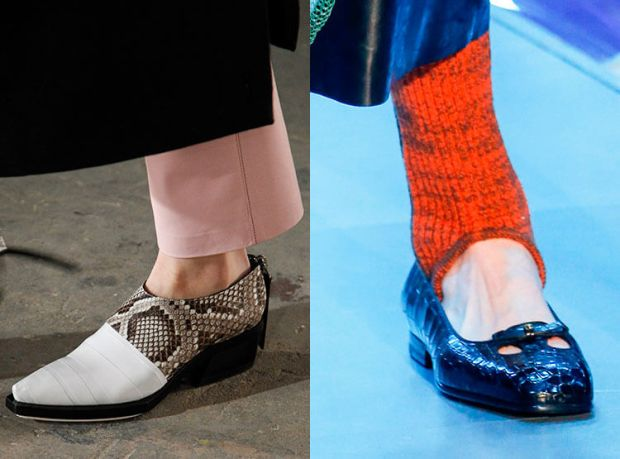 What shoes to wear in winter 2019