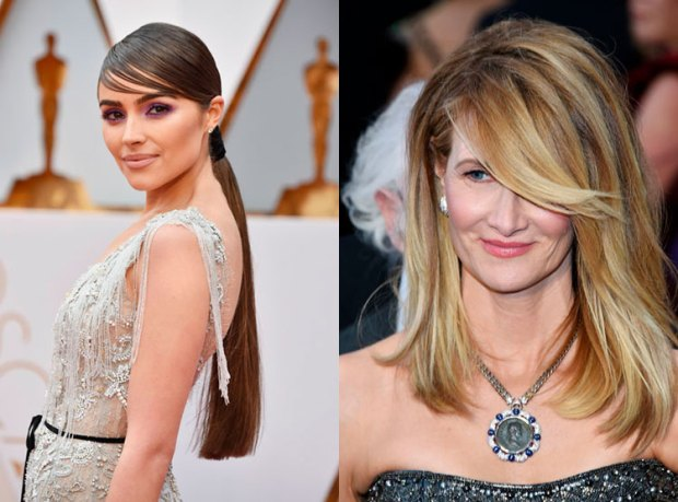 Haircuts for women 2018 2019 fall winter: side-swept bang
