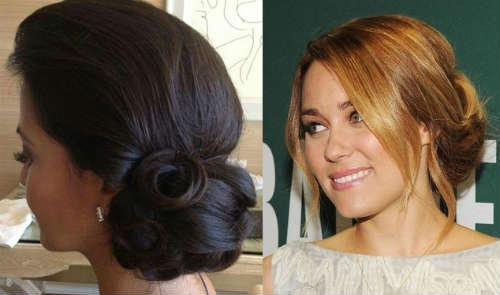 Hair bun for medium length hair celebrities