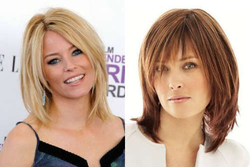 Layered haircuts for mid length hair
