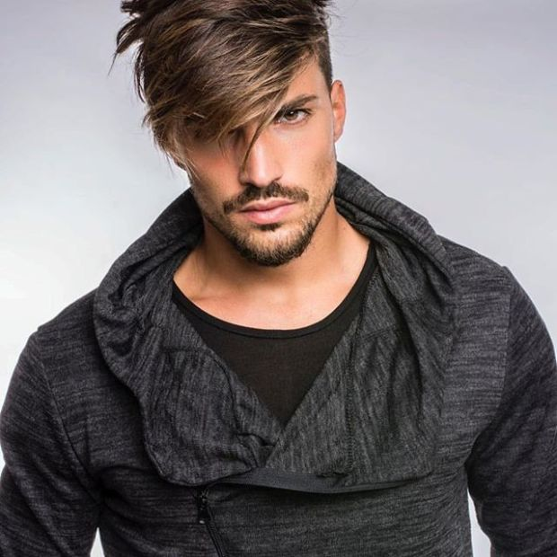 Haircut for men with bangs 2019