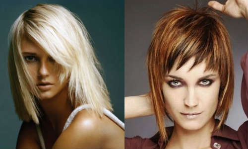 Layered hairstyles for straight hair