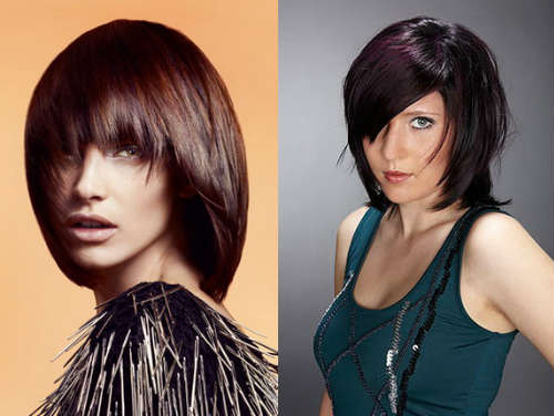 brunette layered haircuts