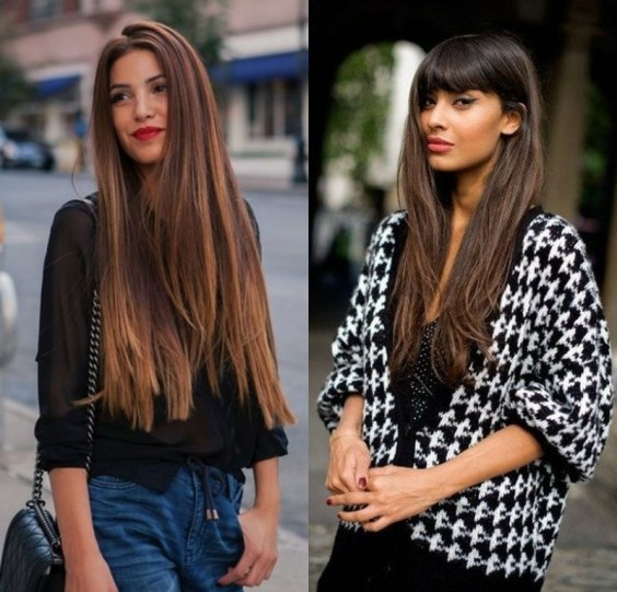 Long haircuts trends 2019