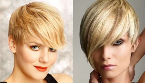 Haircuts for blond hair with bangs