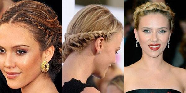 French braids celebrities