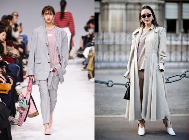 Trendy smoky gray spring summer 2021
