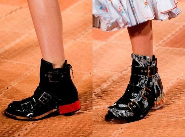 Black fashion boots 2019