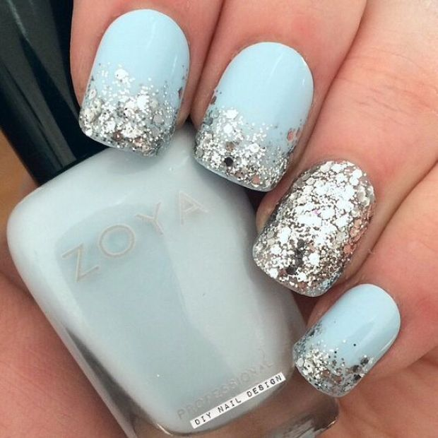 short with glitter