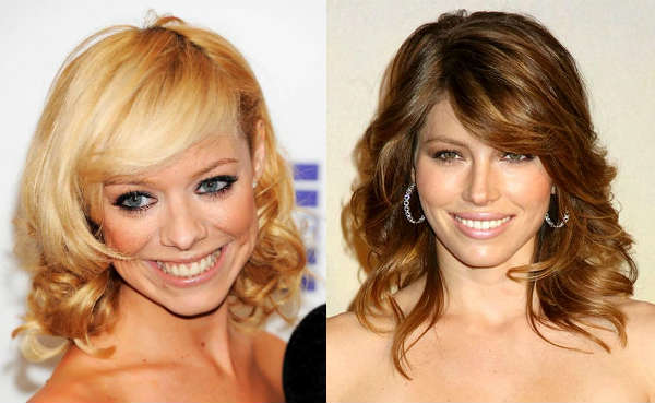 Hairstyle ideas for long curly hair with bangs