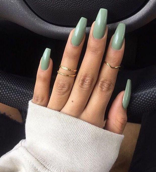 Long nail trends 2019