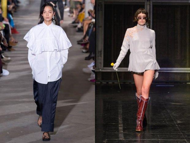 Long blouses spring summer 2021