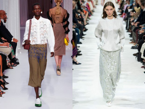 What blouses to wear in spring 2021