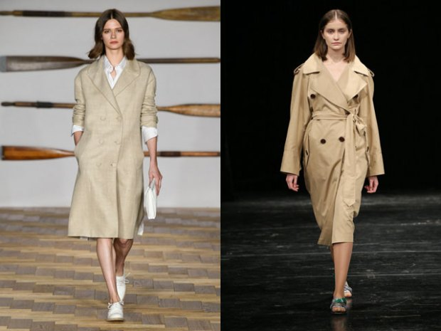 Fashion trench coats spring summer 2019