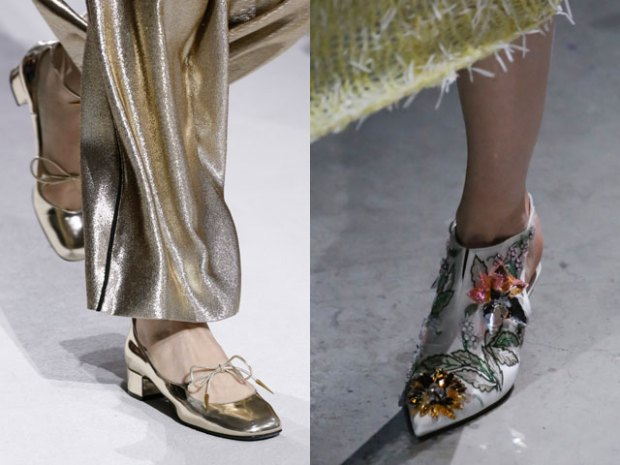 Evening shoes spring-summer 2019