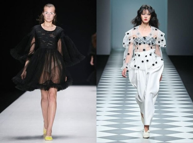 Fashion trends 2019 transparency