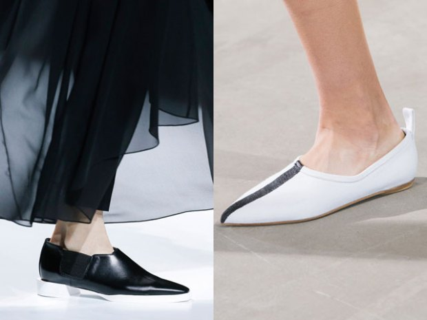 best with pointed toe