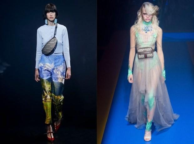 Spring summer 2019 fashion trends: waist bags