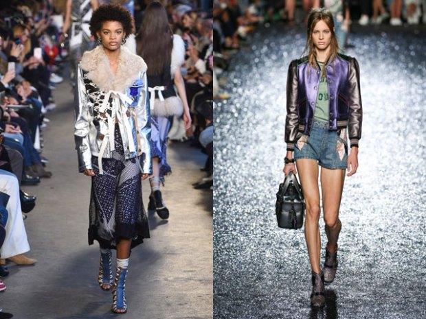 Spring summer 2019 shimmering jackets