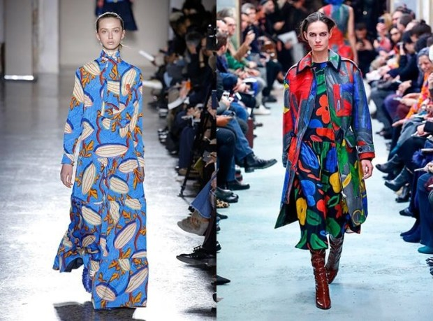 Dresses fall 2019 winter 2020: print