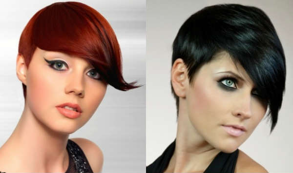 Left or right side asymmetric bang