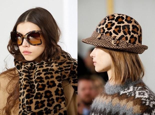 Leopard print accessories