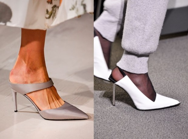 Footwear with pointed toe 2019 2020 fall winter