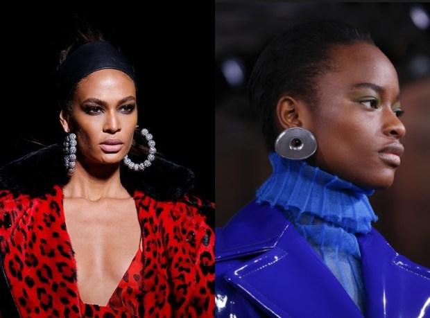 Fall winter 2019 2020 fashion trends huge earrings