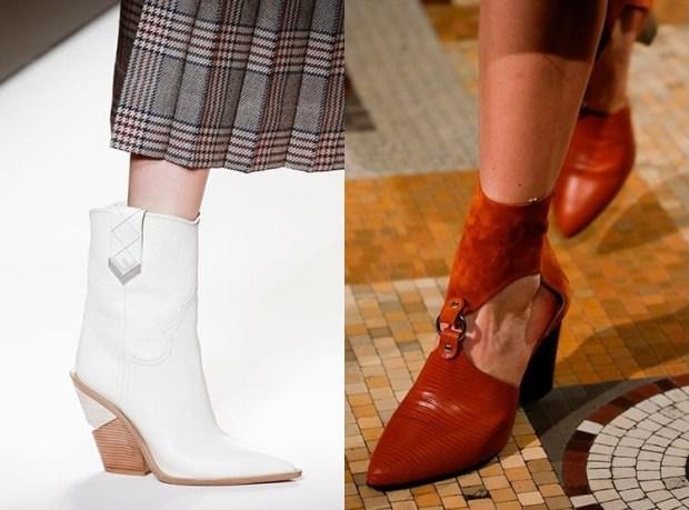 Women footwear fall 2019 winter 2020 cowboy style