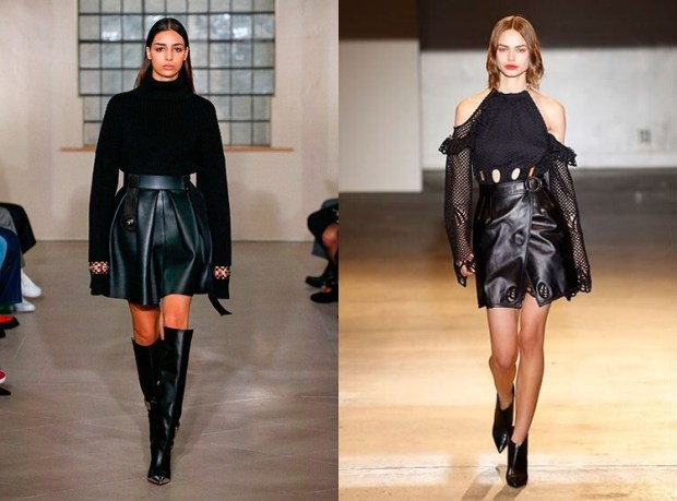 Fall winter 2019 2020 fashion trends: leather
