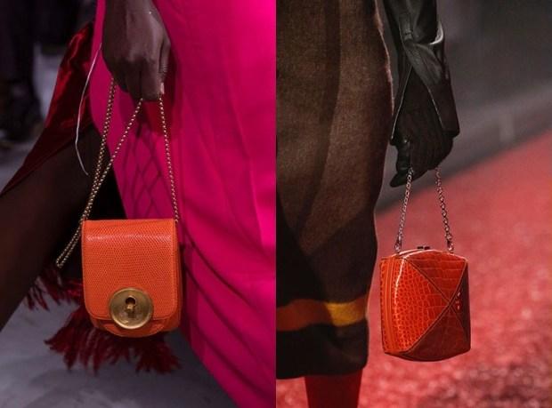 Small stylish chained handbags