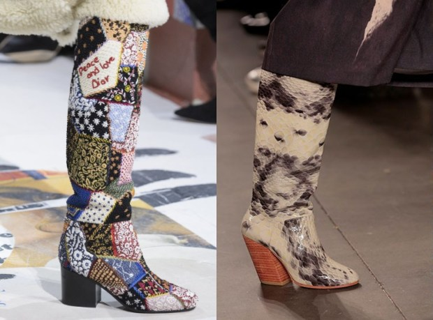 What boots to wear in winter 2020
