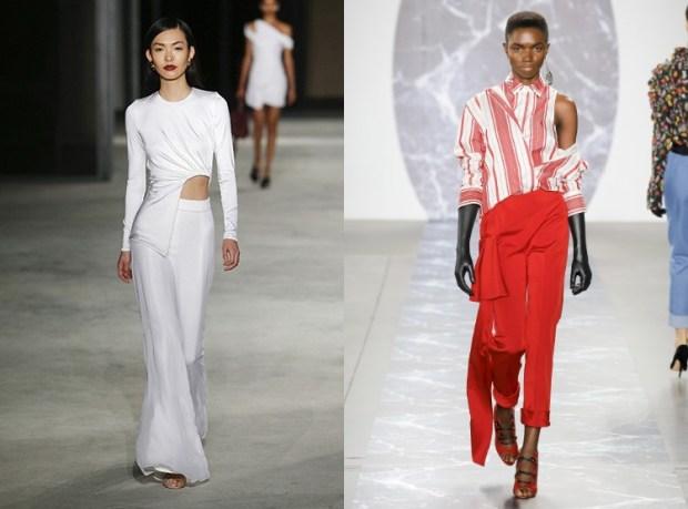 Trendy asymmetric blouses 2020