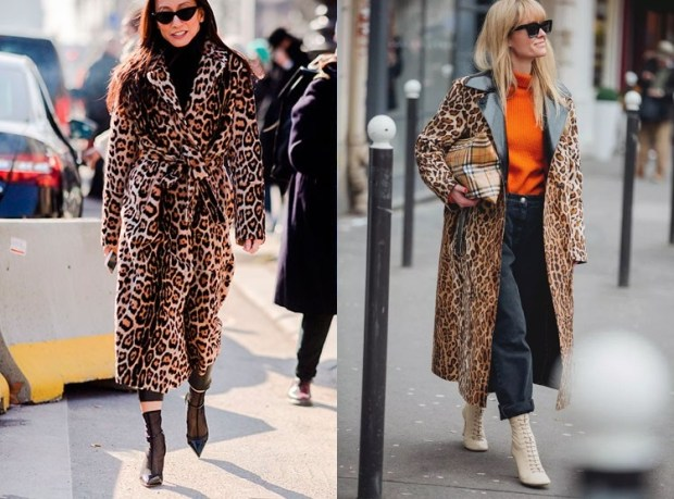 Fashion leopard print